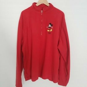 Disney Store Mens Size XXL Pullover Sweatshirt Dad